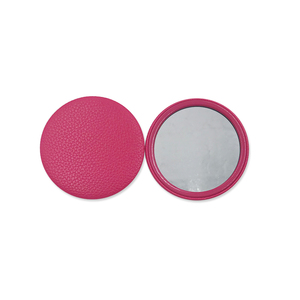 Hot Selling Personalized PU Cosmetic Pocket Mirror Make Up Mirrors