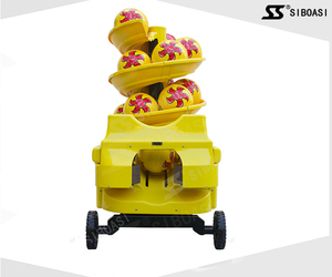 SIBOASI S6526 Wholesale intelligent and smart football or soccer playing robots shooting machine