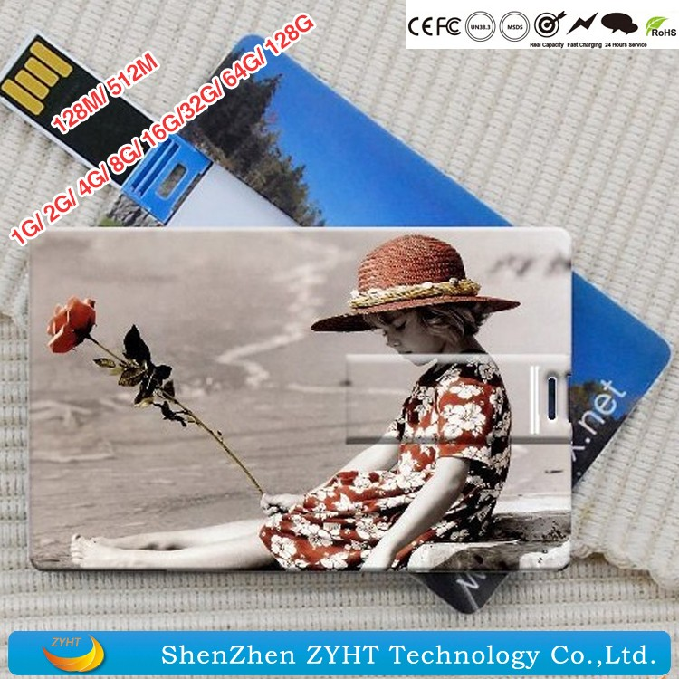 Accept Paypal 8-16G Business Card Usb Hard Drive