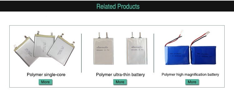 3.7V 2200mAh Li-polymer Rechargeable Batteries for Game Player, Mobile Phone