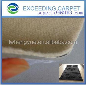 Polyester Nonwoven Velour Car Carpet Automotive Felt Roll