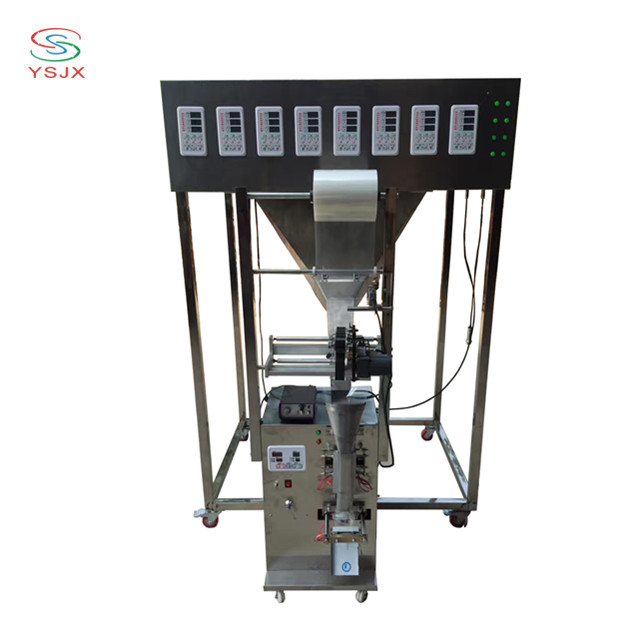 automatic multihead weigher packing machine for mixed materials