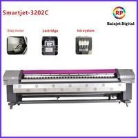 Eco Solvent Inkjet 3.2 M Wide Format Printer With Dx5 Printheads 1440dpi
