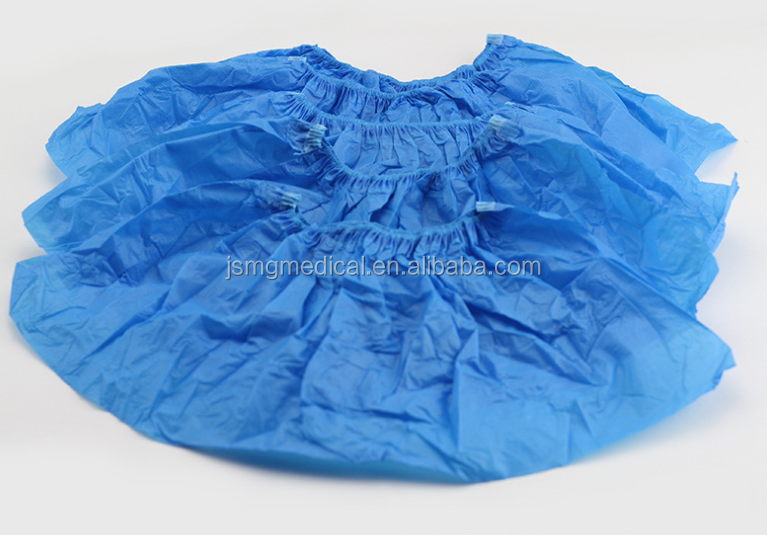 CPE / PE / Nonwoven Medical Disposable Shoe Cover