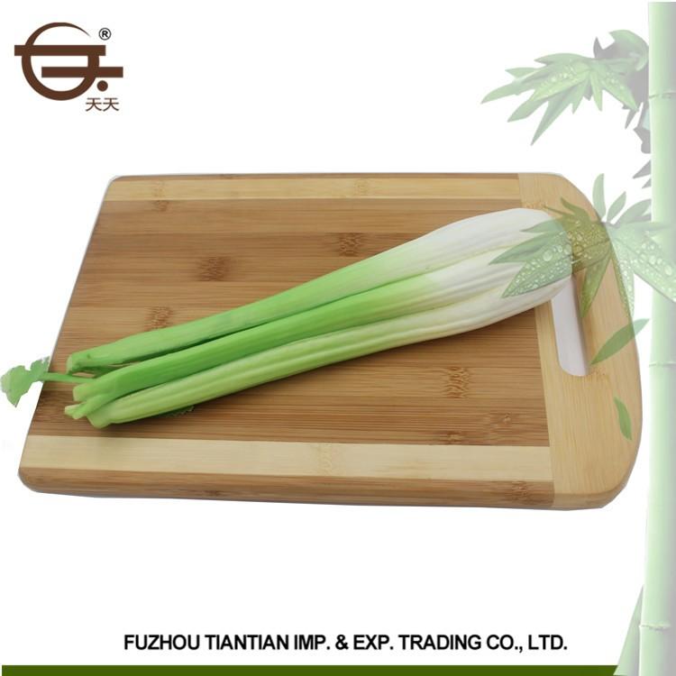 Gepersonaliseerde ontwerp keuken bamboe materiaal en milieuvriendelijke feature hakblok hakken - Gepersonaliseerde keuken ...