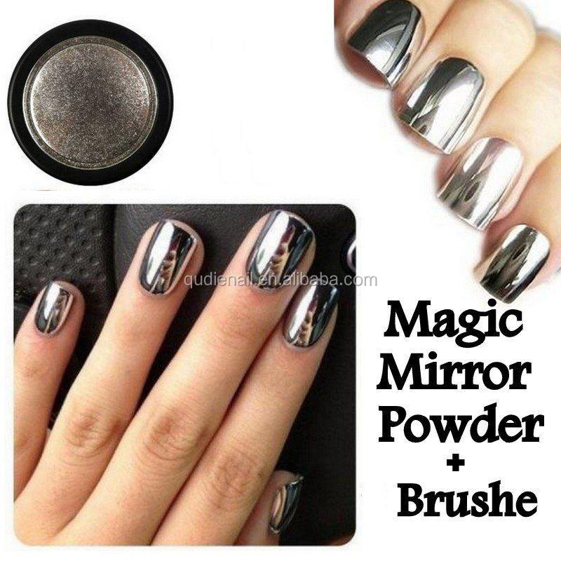 Bin Polarized Nail Art Pigment Mirror Chrome Powder - Buy Nail Art ...