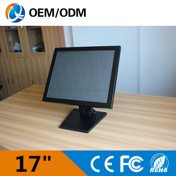 "17"" desktop touch <strong>monitor</strong> / 17 inch touch screen LCD <strong>monitor</strong>"