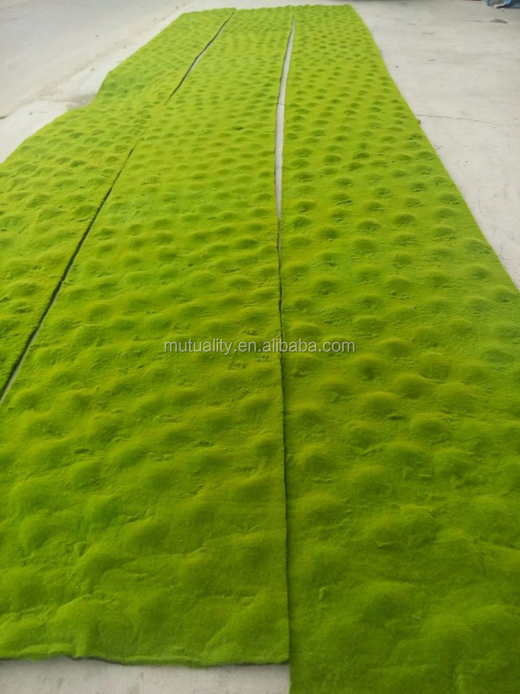 High quality indoor decoration artificial moss carpet for wholesale