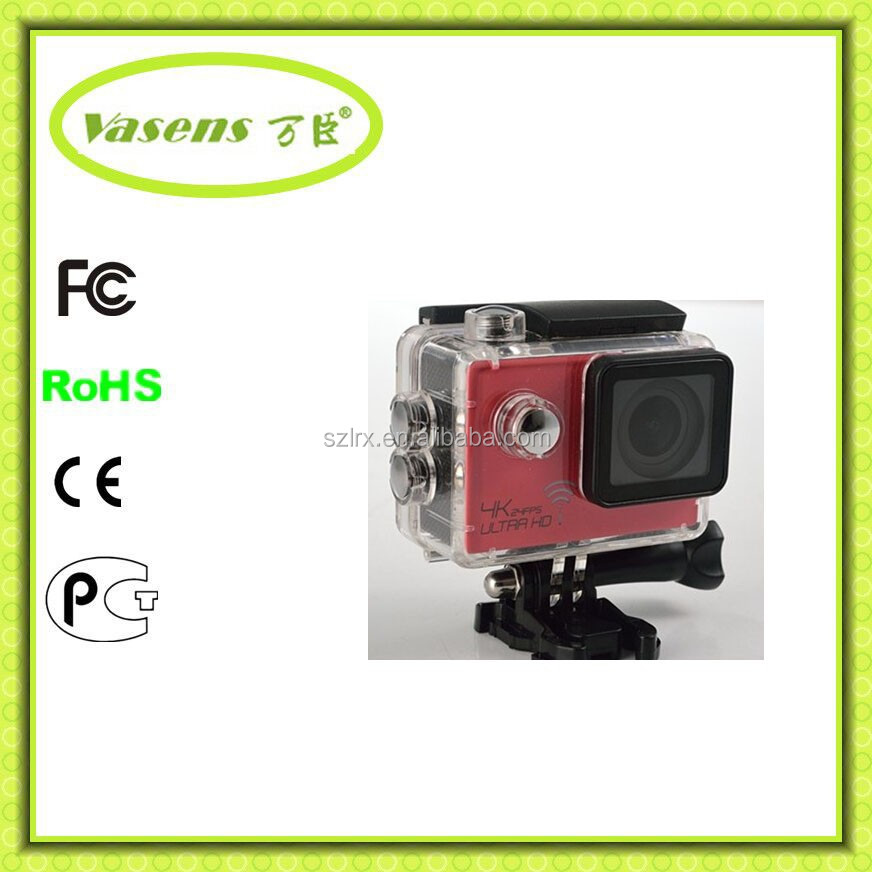 WiFi Mini Action Camera 1.5inch Diving 30M Waterproof HD Camcorder Car DVR Connector Set