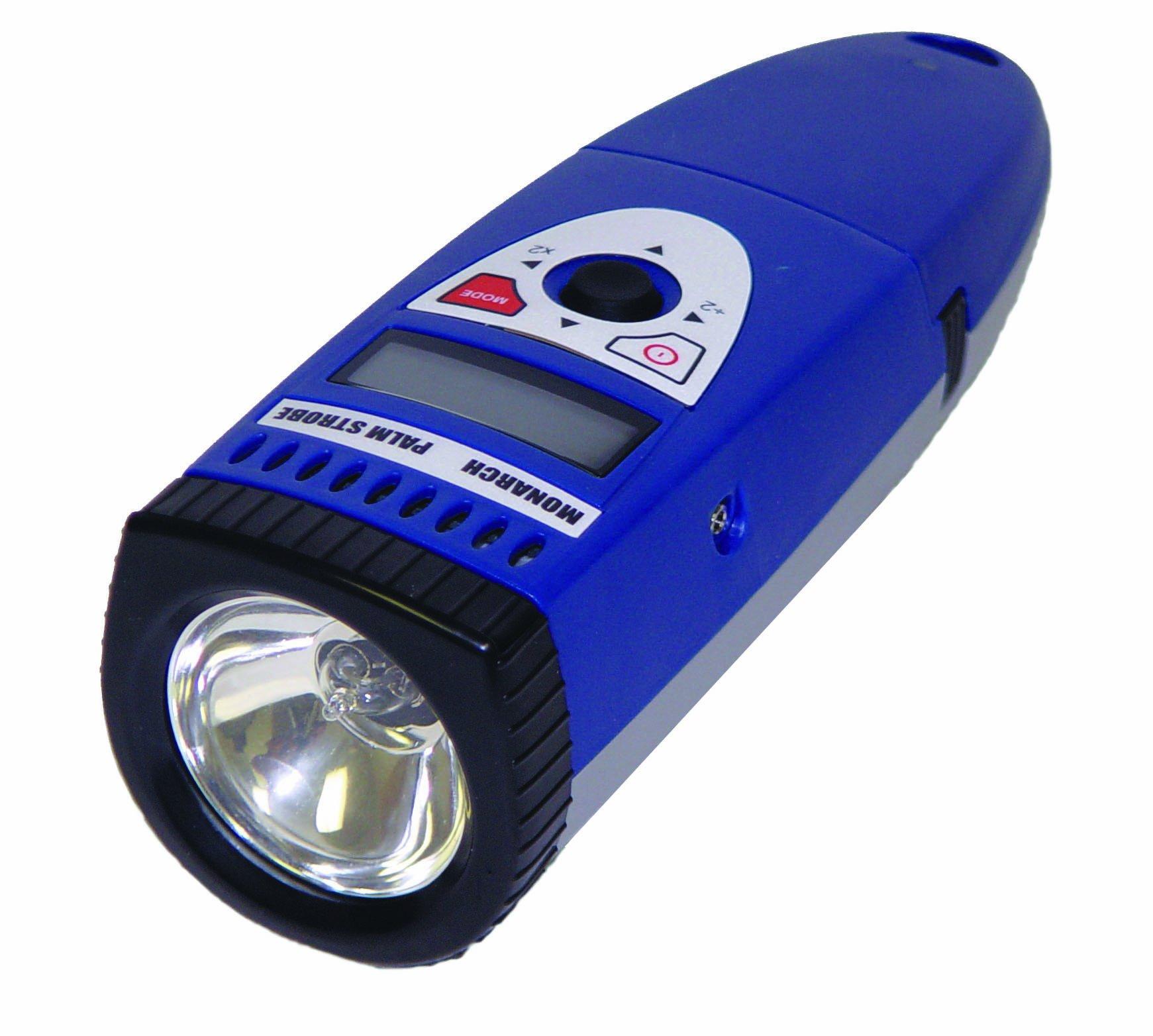 7.81 H x 9 L x 3.66 W Monarch Nova-Strobe BAX 115 Digital Portable Stroboscope