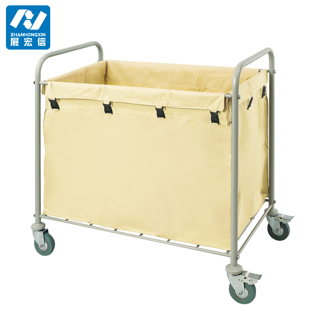 Good Quality Housekeeping Laundry Carts/Maid Trolley for Hotel