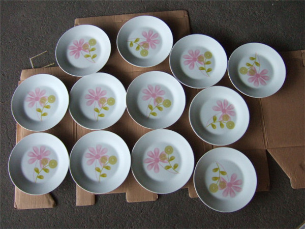 Alibaba Stock Price Porcelain Dinner Set/Eco-Friendly Product Pakistani Dinner Set/Surplus Stock Lots Clearance Dishes & Plates