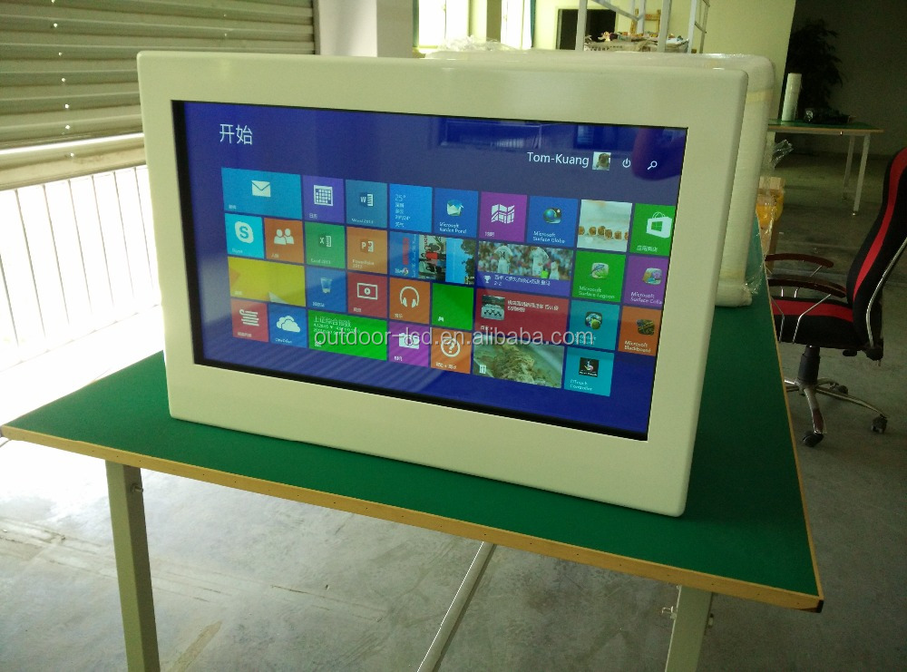 Stock Products Status 31.5 Inch Transparent LCD Display Box with TFT LCD Screen