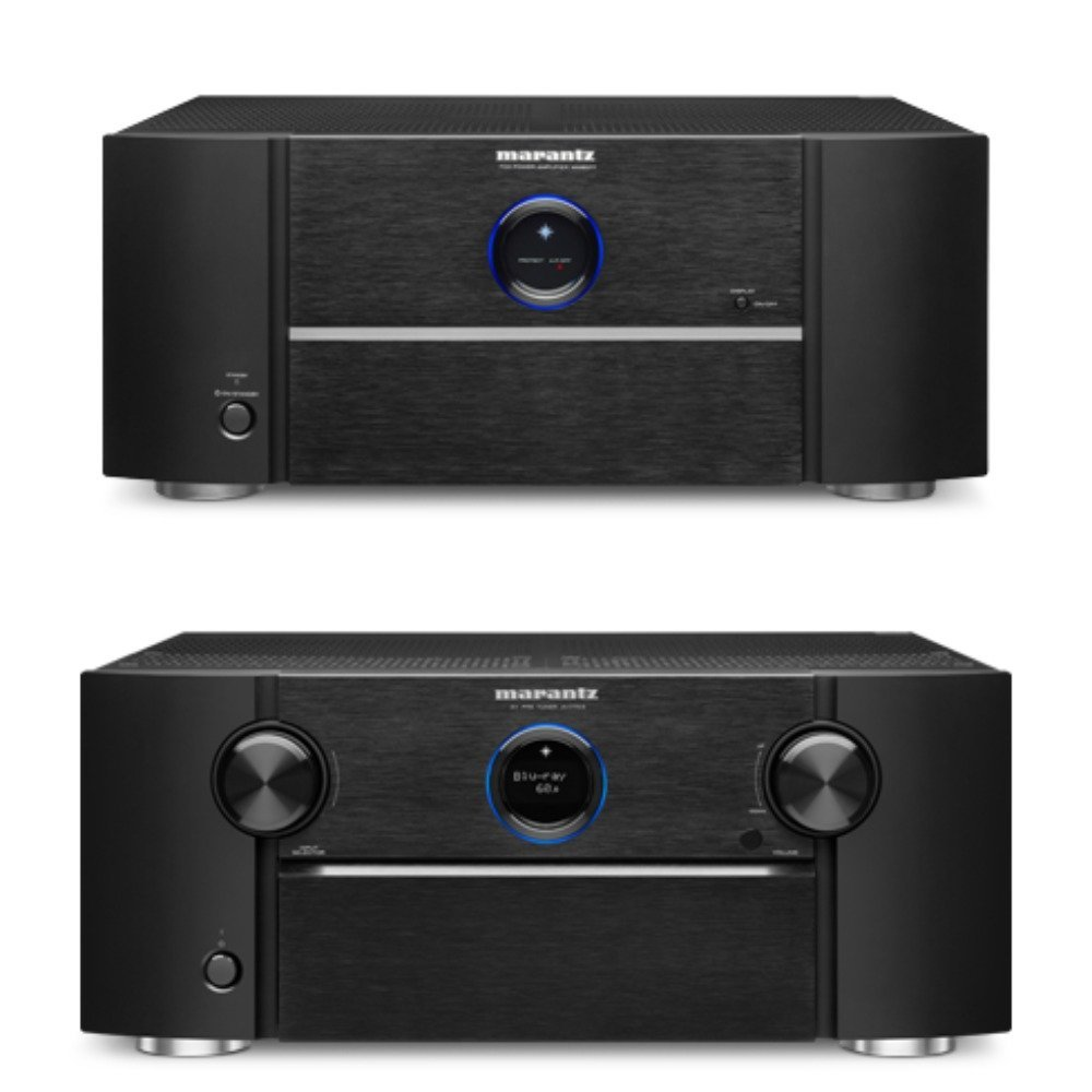 Marantz AV7703 11.2 Channel AV Pre-Amplifier Bundled With (1) Marantz MM8077 7 Channel Power Amplifier