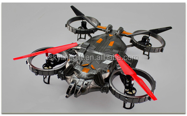 24G 4 Axis Gyro Big Quadcopterrc Drone Helicopter Large Quadcopter With