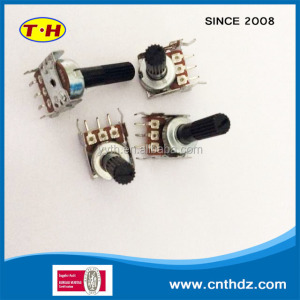 potentiometer 12mm Rotary Potentiometer with Single Unit for Audio Equipment