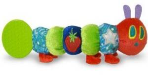 Game / Play The World of Eric Carle: The Very Hungry Caterpillar Teether Rattle by Kids Preferred Toy / Child / Kid
