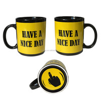 Alentine'S Day Gift Coffee White Magic Mugs Sublimation Ceramic Mugs And Cup High Quality Orca Coating Mugs