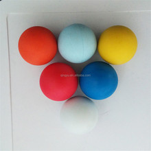 solid silicone rubber ball