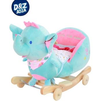 Plush Elephant Rocking Toy Plush Sheep Rocking Toy Plush Animals