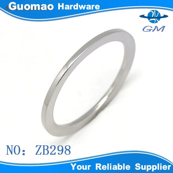 50mm Flat zinc alloy metal bag o rings, View flat o ring ...