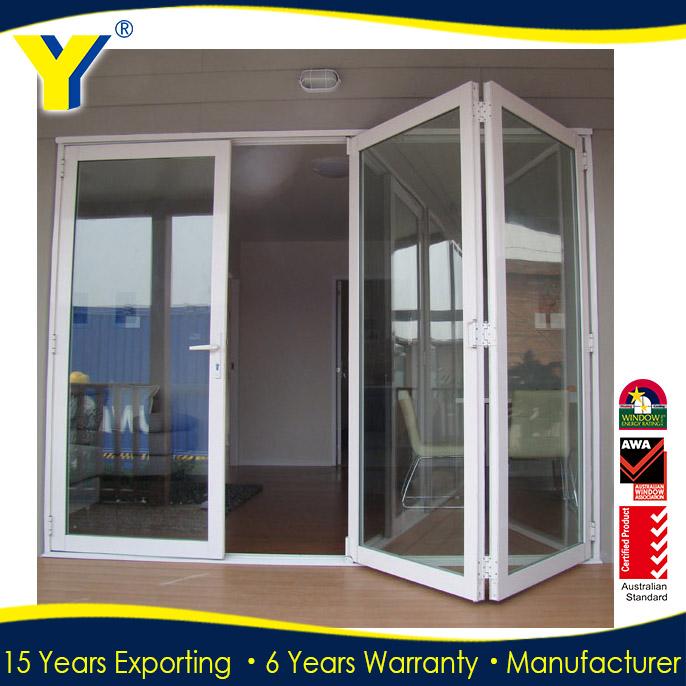 Australian standard frameless folding glass doors - Commercial aluminum exterior doors ...