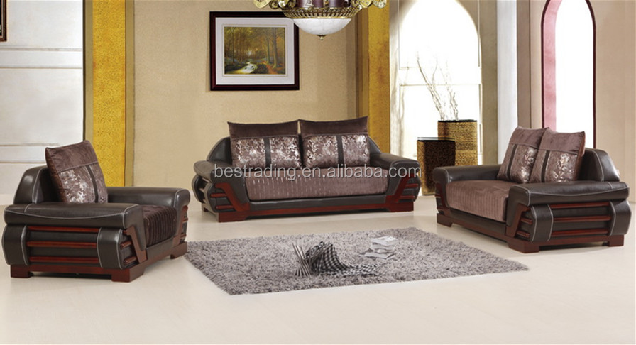 Pu Sofa Leather Set Made In China