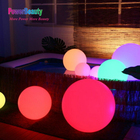 2019 new outdoor magic illuminated swimming glow pool water floating solar led light ball with wireless remote control