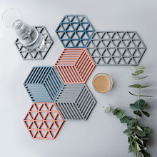 Hittebestendig Silica Hollow Cup <span class=keywords><strong>Pad</strong></span> antislip Tafel Mat <span class=keywords><strong>Pad</strong></span> Thermische Isolatie <span class=keywords><strong>Pad</strong></span>
