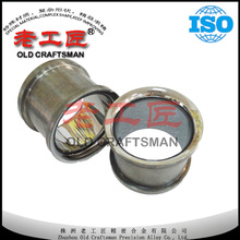 Polished cemented carbide bow guiding roller
