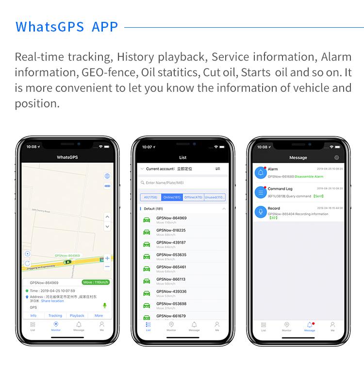 SEEWORLD S06A Olio Cut Off 3G 4G GPS Tracker Dispositivo versione aggiornata GT06N TR06 con trasporto Auto GPS sistema di tracciamento e sensore di luce