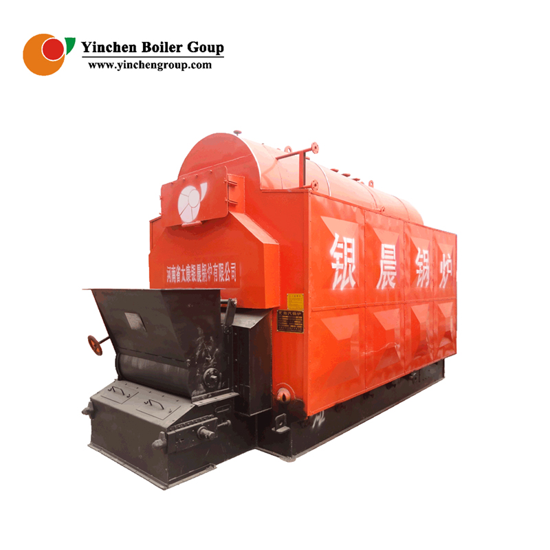 DZH Industrial Biomass wood chips steam boiler for textile or printing