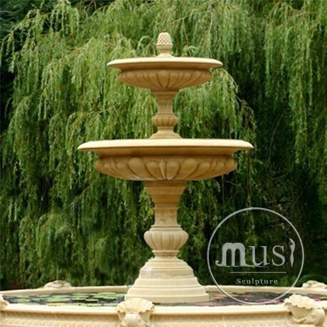 Popular Design Lion Garden Fountain