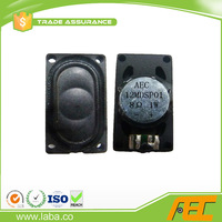 Plastic Housing speaker driver 14*25mm 8ohm 1W for notebook