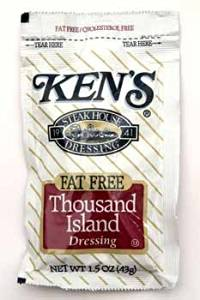 Kens Fat Free Thousand Island Dressing Case Pack 120 Kens Fat Free Thousand Island Dressing Case Pa
