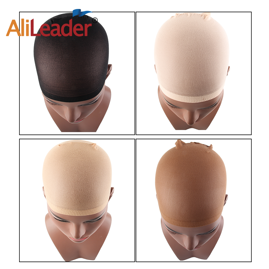 AliLeader Wholesale Stretchy Close End Stocking Wig Caps