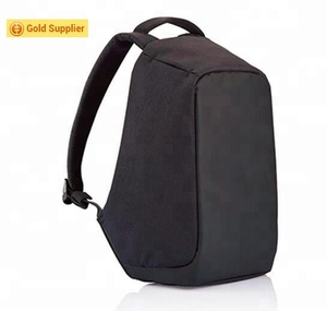 Convenient outdoor style anti-theft backpack with usb backpack for mobile phone