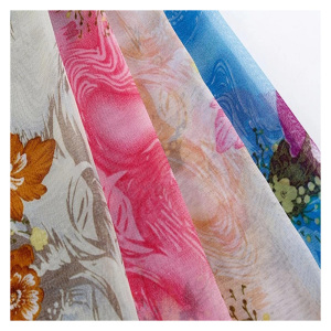 new products famous brand graceful chiffon fabric rolls wholesale