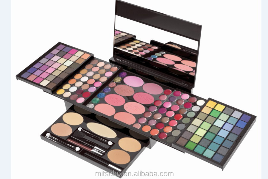 complete makeup kit. all-in-one professional makeup kit palette complete n