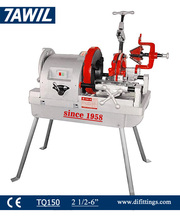 "Tawil New 6"" 150 automatic bspt npt pipe threading cutting machine"