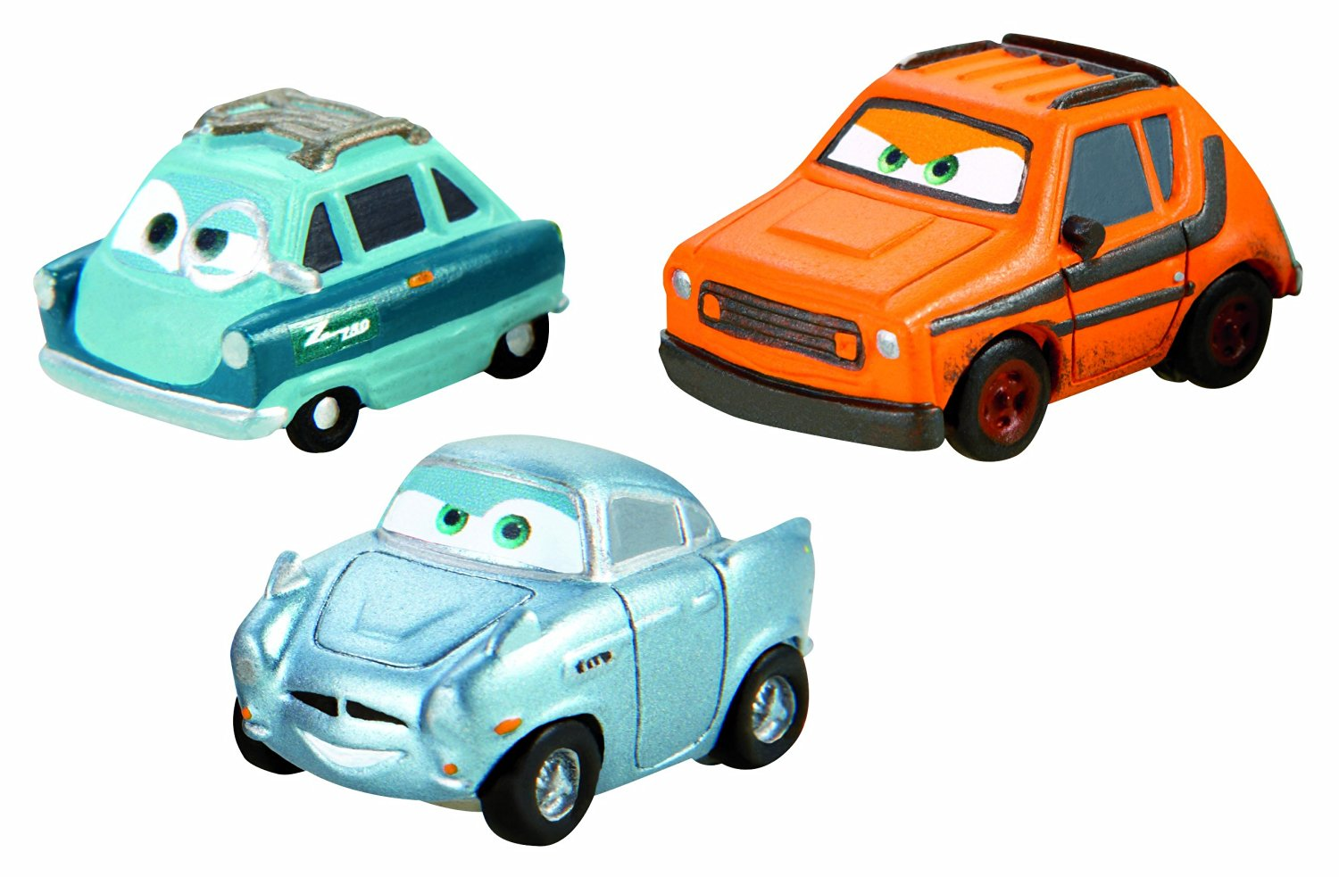 Cars Micro Drifters Grem, Professor Z and Finn McMissile Vehicle 3-Pack