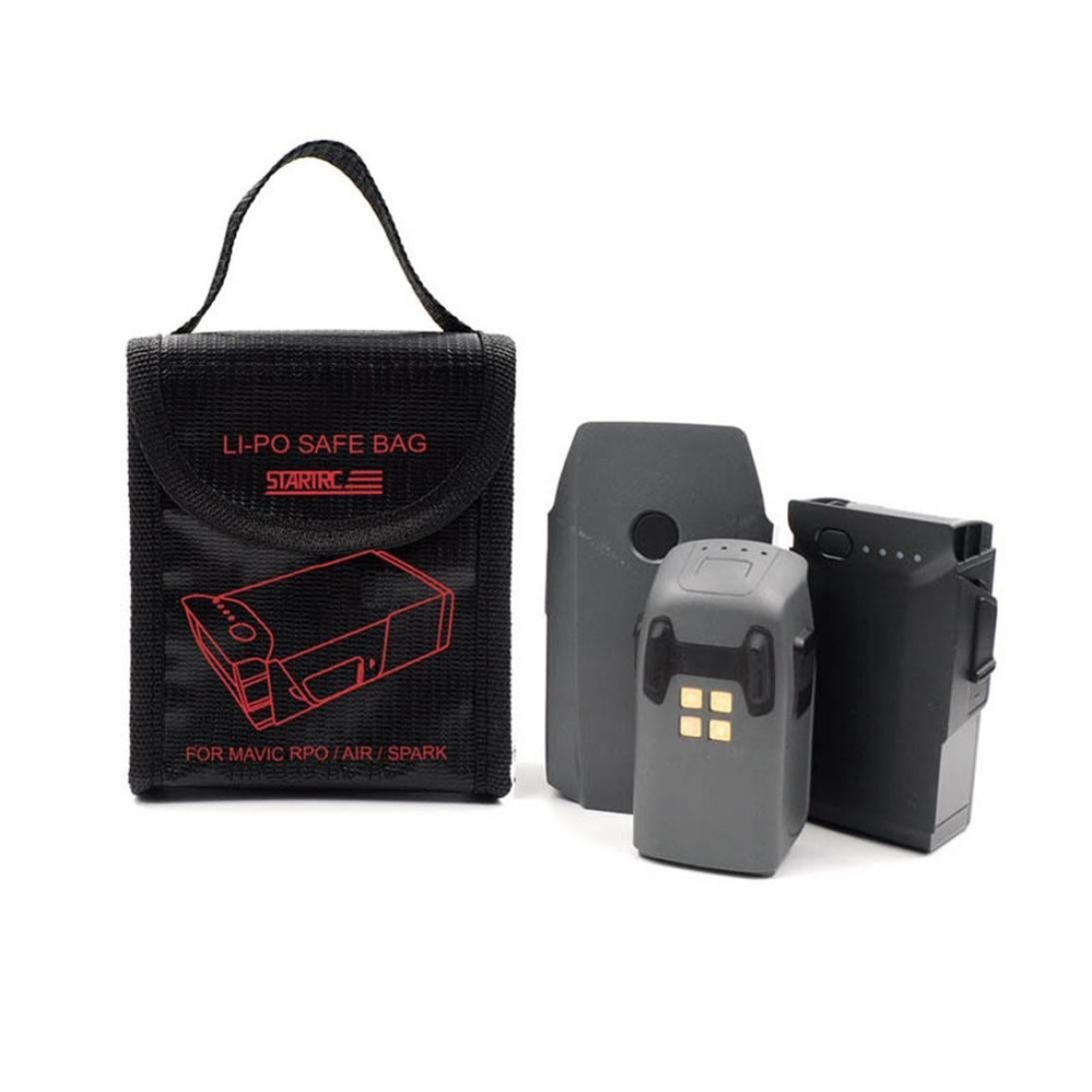 Sikye LI-PO Explosion-proof Fireproof Safe Bag Cover Batteries Storage for DJI Mavic Series/Spark