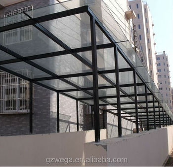 Wega New Designed Glass Canopy Buy Glass Canopy Glass