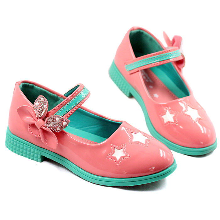 New Hot Girls Sandals PU Children Sandals For Girls Summer 2015 Fashion 26-30 Kids Shoes For Girl Sandale Fille Pink Red