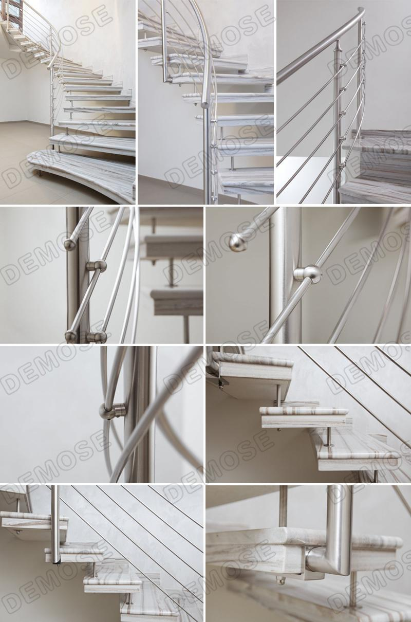 Steel grill design for stairs - Mirror Finish Stainless Steel Guard Rails Window Grill Design