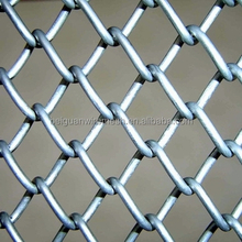 9 gauge galvanized chain link fence(ASTM A 392, supply the whole solution including mesh fabric and accessories)