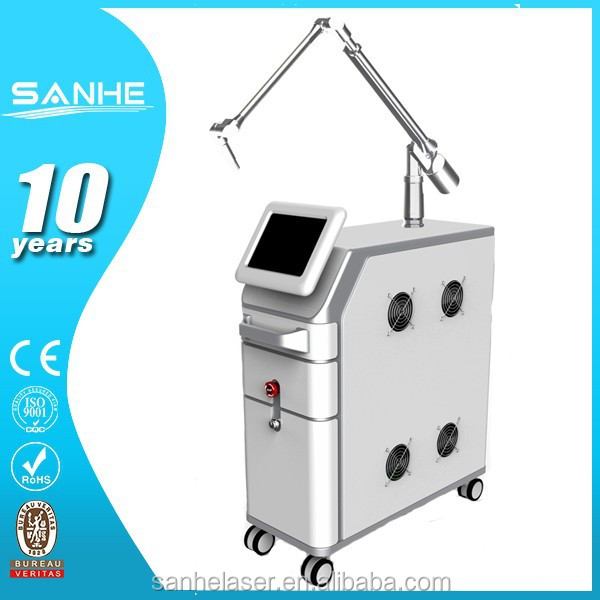 Fashionable updated beauty spa machine medical laser nd yag/q switch nd yag laser tattoo removal system