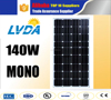 price list pv 12v high quality solar panel 130w 140w 150w 160w Monocrystalline solar panel for Yemen market solar panel
