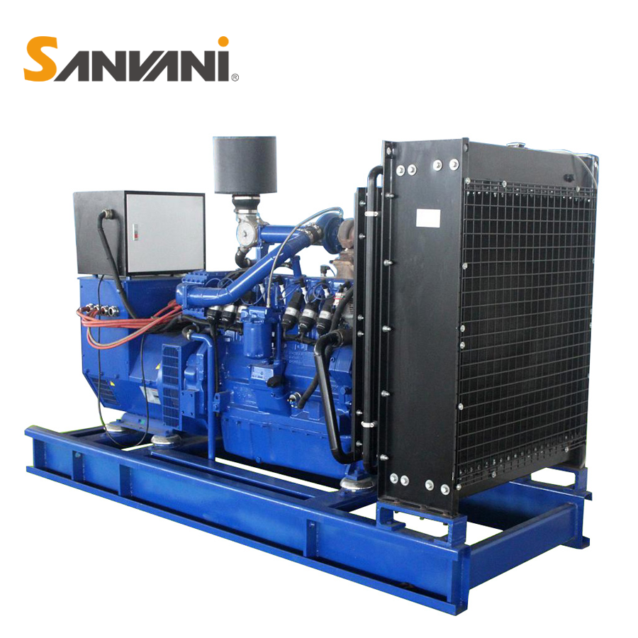 160kw natural gas biogas generator with 150kw engine on sale
