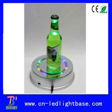 Fashion rotating plastic round crystal wedding gift